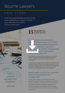 Bourne Lawyers - Case Study