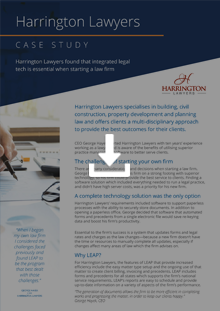 Harrington Lawyers - Case Study