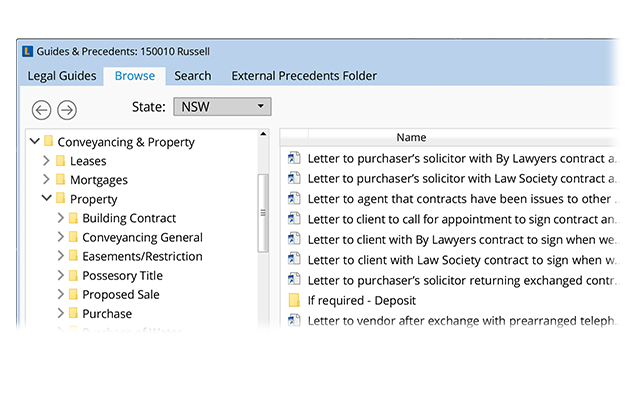Document Creation | LEAP Legal Software